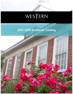 2017-18 Academic Catalog